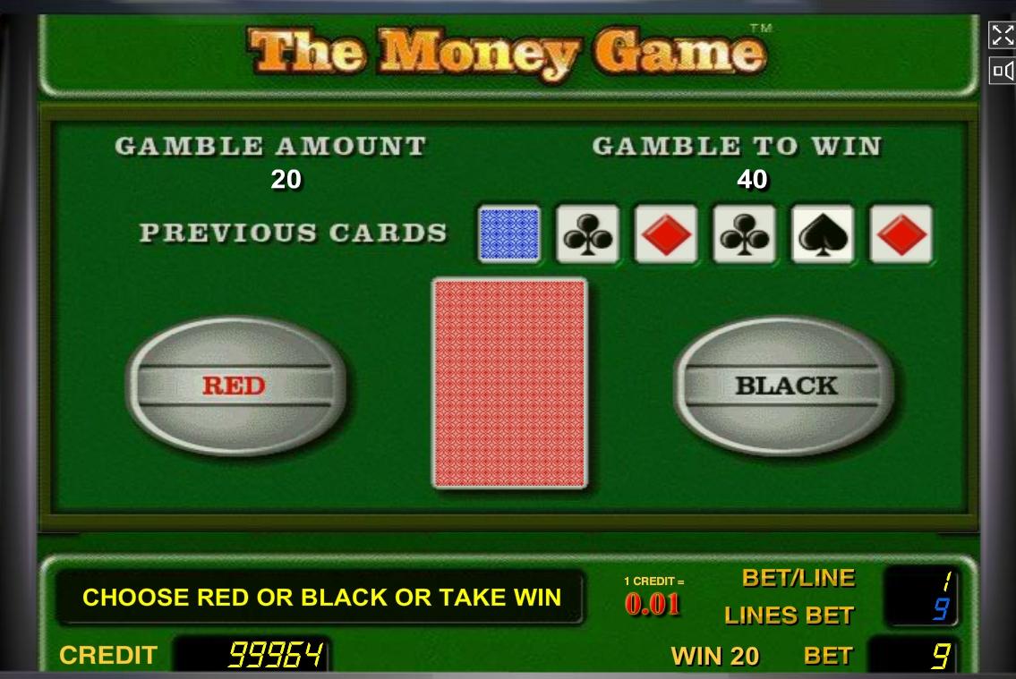 Риск игра автомата Денежнея Игра